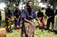 Members of Community Reproductive Health Workers, Uganda Royalty Free Stock Image