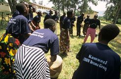 Members of Community Reproductive Health Workers, Uganda Stock Photos