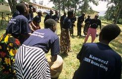 Members of Community Reproductive Health Workers, Uganda Stock Photos