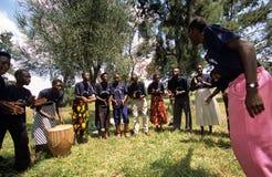 Members of Community Reproductive Health Workers, Uganda Stock Photography