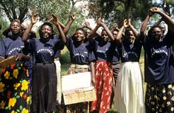Members of Community Reproductive Health Workers, Uganda Stock Photography