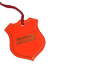 Members Enclosure Pass. From a horse track royalty free stock image