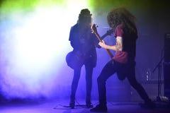 Members of HaYehudim, hard rock band. Stock Images