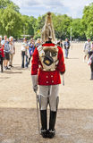 Members of the Queen's Horse Guard on duty. Royalty Free Stock Images