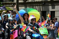 New York City Pride Parade royalty free stock photos