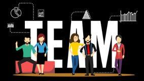 Members of a team