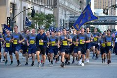Tunnel to Towers memorial run. royalty free stock images