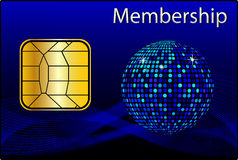 Membership Card Royalty Free Stock Photos