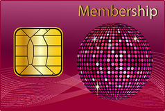 Membership Card Royalty Free Stock Image