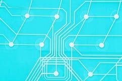 Membrana del circuito del teclado imágenes de archivo libres de regalías