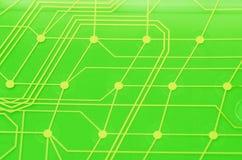 Membrana del circuito del teclado imagenes de archivo
