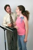 Membrane de leçon de voix Image libre de droits