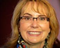 Membre du Congrès Gabrielle Giffords Close Up Photos stock
