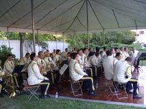 Membres d'orchestre Images stock