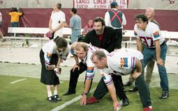 Membres des fous de la bande 10.000 au Sun Devil Stadium Images stock