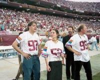 Membres des fous de la bande 10.000 au Sun Devil Stadium Image libre de droits