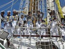 Membri d'equipaggio del Cuauhtemoc Fotografie Stock Libere da Diritti