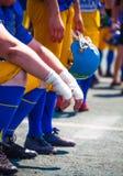 Membri del team aspettanti Fotografie Stock