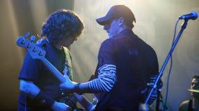 Membri della banda rock Immagine Stock