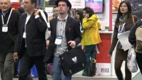 Membri di conferenza, la gente video d archivio