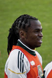 Membro da equipa do futebol de Bafana Bafana Fotografia de Stock