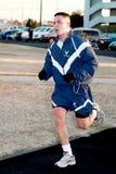 Membro da força aérea em 5K - 2 Foto de Stock