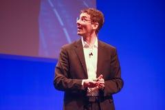 Membro de SAP do quadro executivo Bernd Leukert Fotografia de Stock