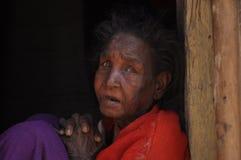 Membro de uma tribo velhos fotografia de stock