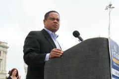 Membro del Congresso Keith Ellison Fotografia Stock Libera da Diritti