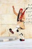 Membro della guardia, Atene, Grecia Immagine Stock