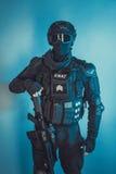 Membro della squadra dello SCHIAFFO fotografie stock