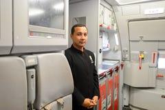 Membro do grupo de Air Asia Fotografia de Stock