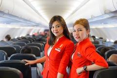 Membro do grupo de Air Asia Imagem de Stock