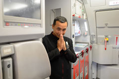 Membro do grupo de Air Asia Imagens de Stock