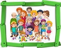 Membros da família Fotos de Stock