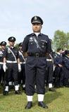Membros da polícia de Malaysia Imagem de Stock