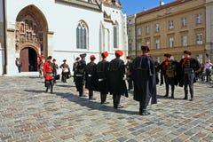 Membros do regimento do lenço imagem de stock royalty free