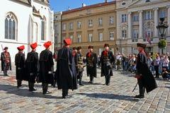 Membros do regimento do lenço foto de stock royalty free