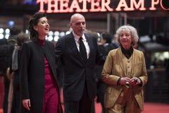 Membros documentáveis do júri da concessão de Glashuette durante o Berlinale 2018 imagem de stock royalty free