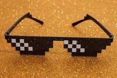 meme γυαλιά εικονοκυττάρου στοκ εικόνα
