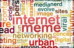 meme интернета Стоковая Фотография RF