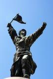 Memento-Park - kommunistisches Monument Stockfoto