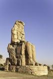 Memnon de colosse Photos stock