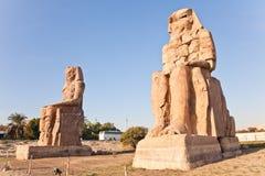 Memnon de colosses Image libre de droits
