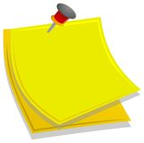 Memo. To write a message Royalty Free Stock Photography