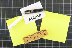 Memo board Stock Photos
