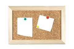 Memo board Royalty Free Stock Photos