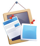 Memo board Stock Images