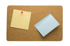 Memo on the corkboard Stock Photography