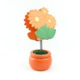 Memo holder. The Memo holder, flower shape Stock Photo